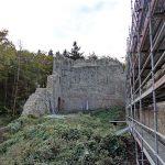 Sanierung Burgruine Rumburg