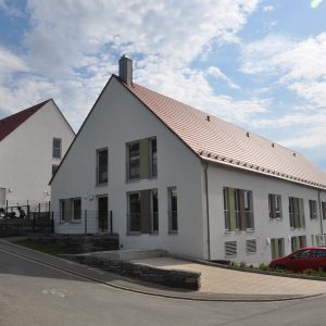 fertig gestellte Förderstätte mit Wohnheim