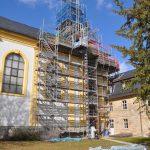 Chor / Treppenhaus - Südansicht