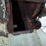Schäden an der Dachreiter-Konstruktion