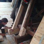 Chor / Treppenhaus - Instandsetzung des Daches