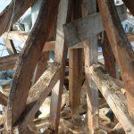 Chor / Treppenhaus - freigelegte Zwiebel