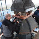 Chor / Treppenhaus - Schieferdeckungsarbeiten Dachreiter