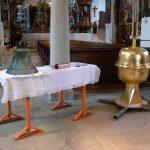 Chor / Treppenhaus - Segnung der Bekrönung