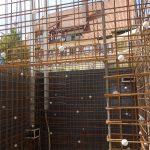 Neues Stahlbetontreppenhaus