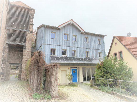 Bürogebäude in der Altstadt von Kulmbach