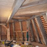 Chorschluss Ostseite Dachraum