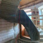 Neue Wendeltreppe aus Stahlbeton
