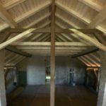 Dachgeschoss zwischen Scheune und ehem. Stall